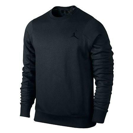 Черный спортивный мужской Зимний  костюм Jordan (Джордан)
