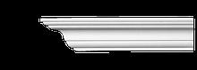 Карниз потолочный гладкий Classic Home 2-0701, лепной декор из полиуретана