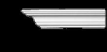 Карниз потолочный гладкий Classic Home 2-0701 flex, лепной декор из полиуретана