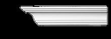 Карниз потолочный гладкий Classic Home 2-0720, лепной декор из полиуретана