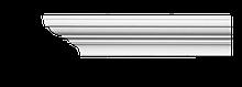 Карниз потолочный гладкий Classic Home 2-0721, лепной декор из полиуретана