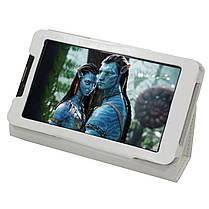 ✸Чехол LESKO Call 7 White подставка для планшета от повреждений, фото 3