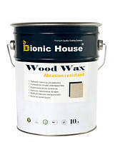 WOOD WAX Краска воск на водной основе для дерева Bionic-House 10л
