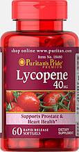 Ликопин, Puritan's pride Lycopene 40 мг 60 капсул
