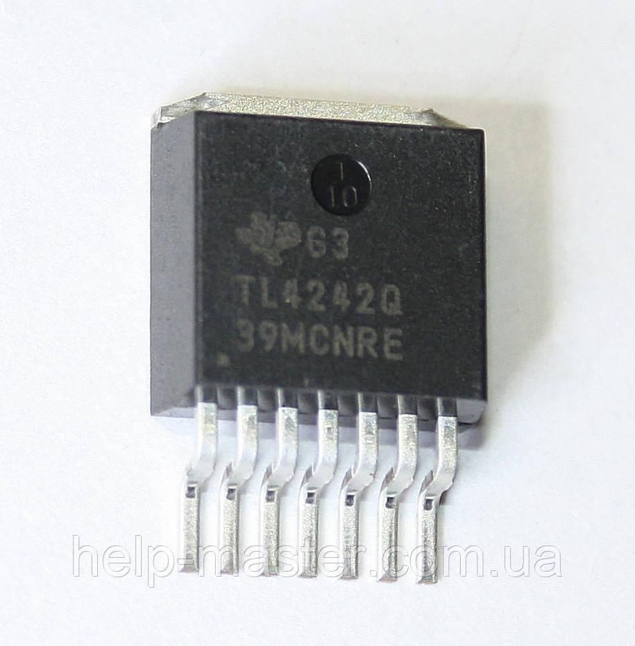 Микросхема TL4242QKTTRQ1 (TO-263-7)
