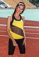Стильный летний костюм спортивный женский S M L