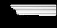 Карниз потолочный гладкий Classic Home 2-0801 flex, лепной декор из полиуретана