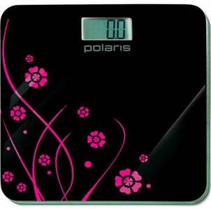 Весы напольные Polaris PWS 1523DG Black/Flower