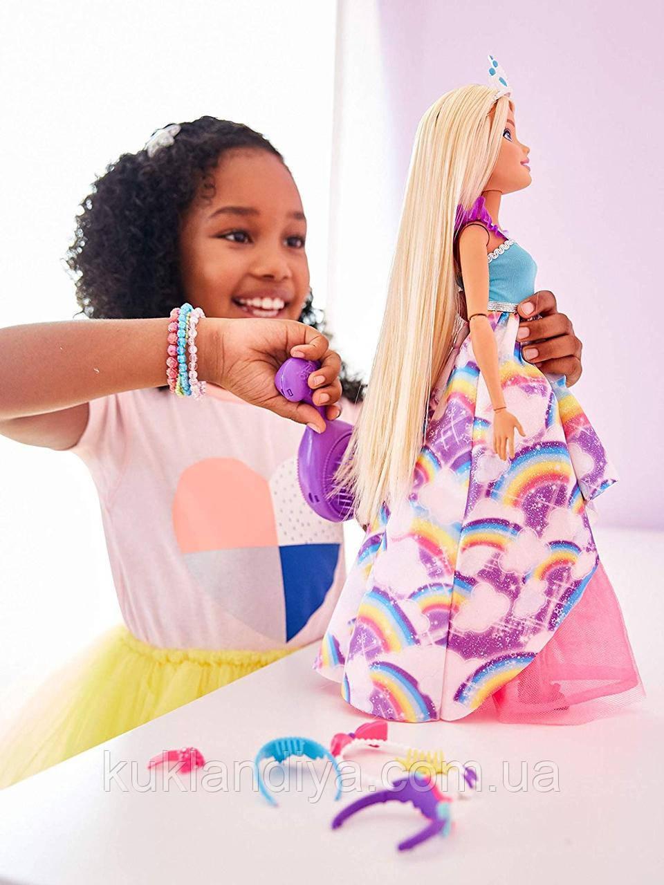 """Большая принцесса Barbie серии """"Сказочно-длинные волосы"""" 43 см Endless Hair Kingdom"""