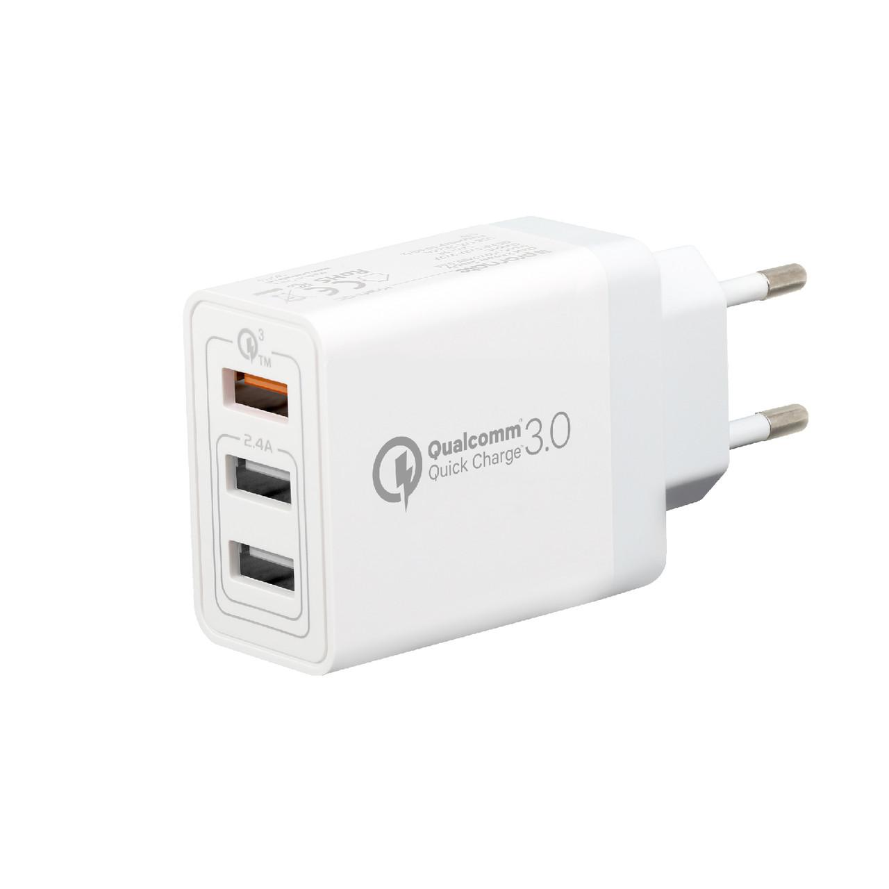 Зарядное устройство Kraft-QC White