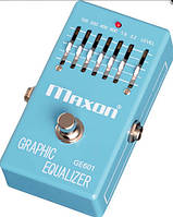 MAXON GE601 GRAPHIC EQUALIZER Педаль эквалайзер графический