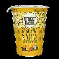 Каша STREET KASHA Овсянка с апельсином 50г стакан, 30шт/ящ