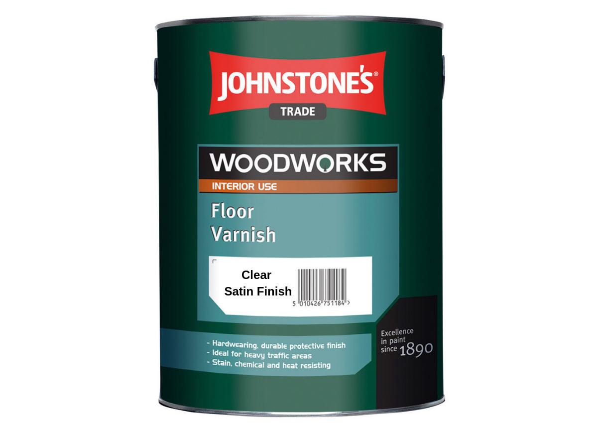 Лак для пола Johnstones Floor Varnish Satin 2.5л