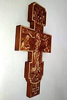 """Крест настенный из дерева """"Распятие"""" 120х225х18 мм"""