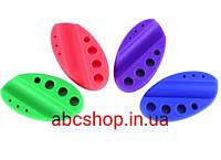 Подставка силиконовая для ручки и колпачков (фиолетовая)
