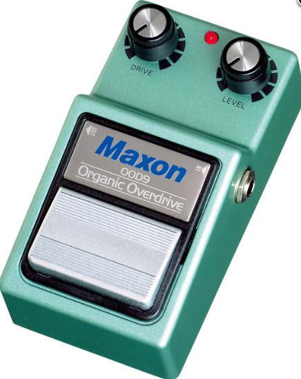 MAXON OOD9 ORGANIC OVERDRIVE Напольный педаль эффектов для электрогитар овердрайв.