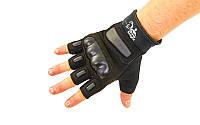 Перчатки тактические с открытыми пальцами SILVER KNIGHT, фото 1