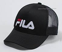 Бейсболка черного цвета Fila