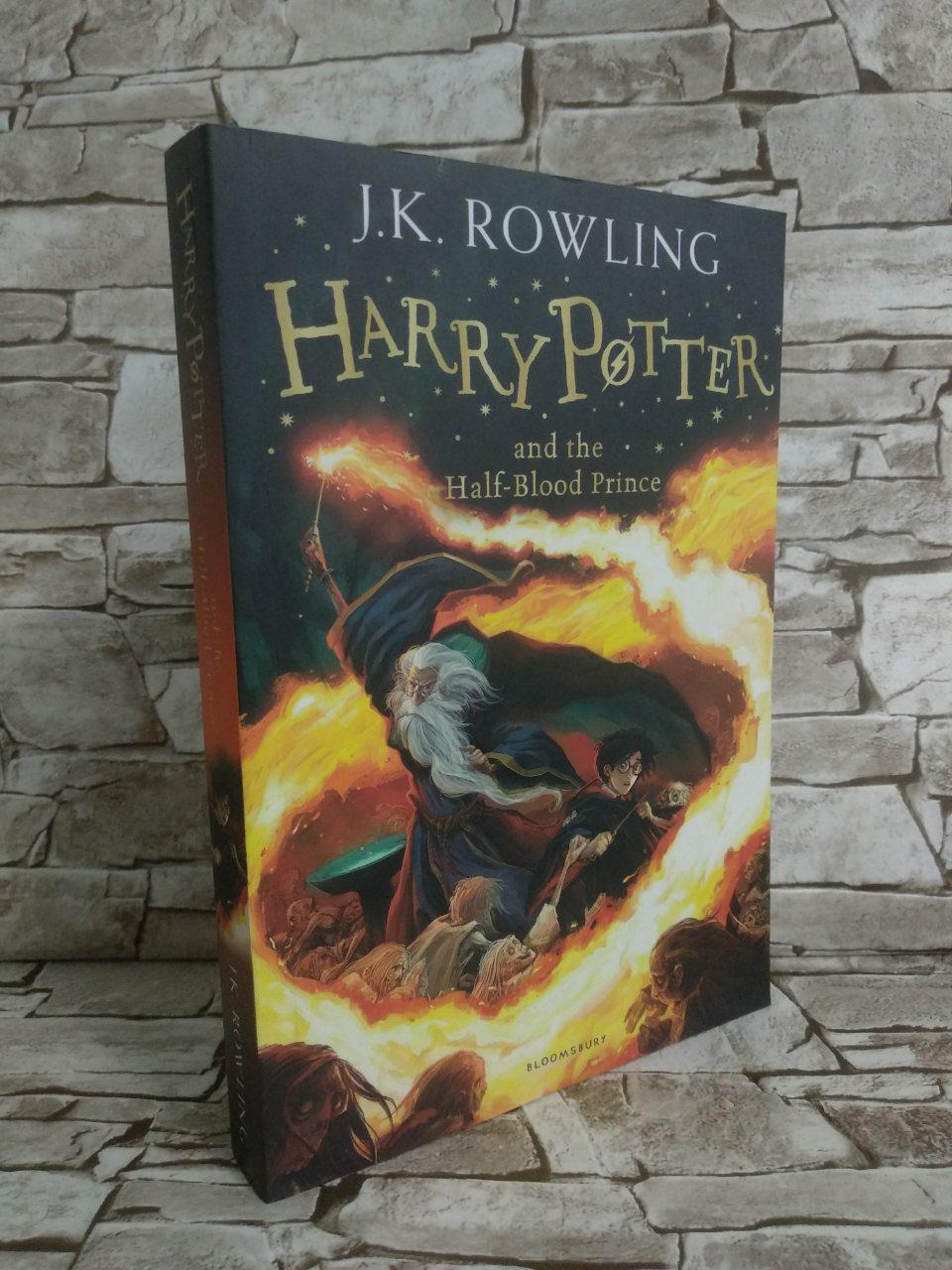 Книга Harry Potter and the Half-Blood Prince, Гарри Поттер и Принц Полукровка, на английском языке