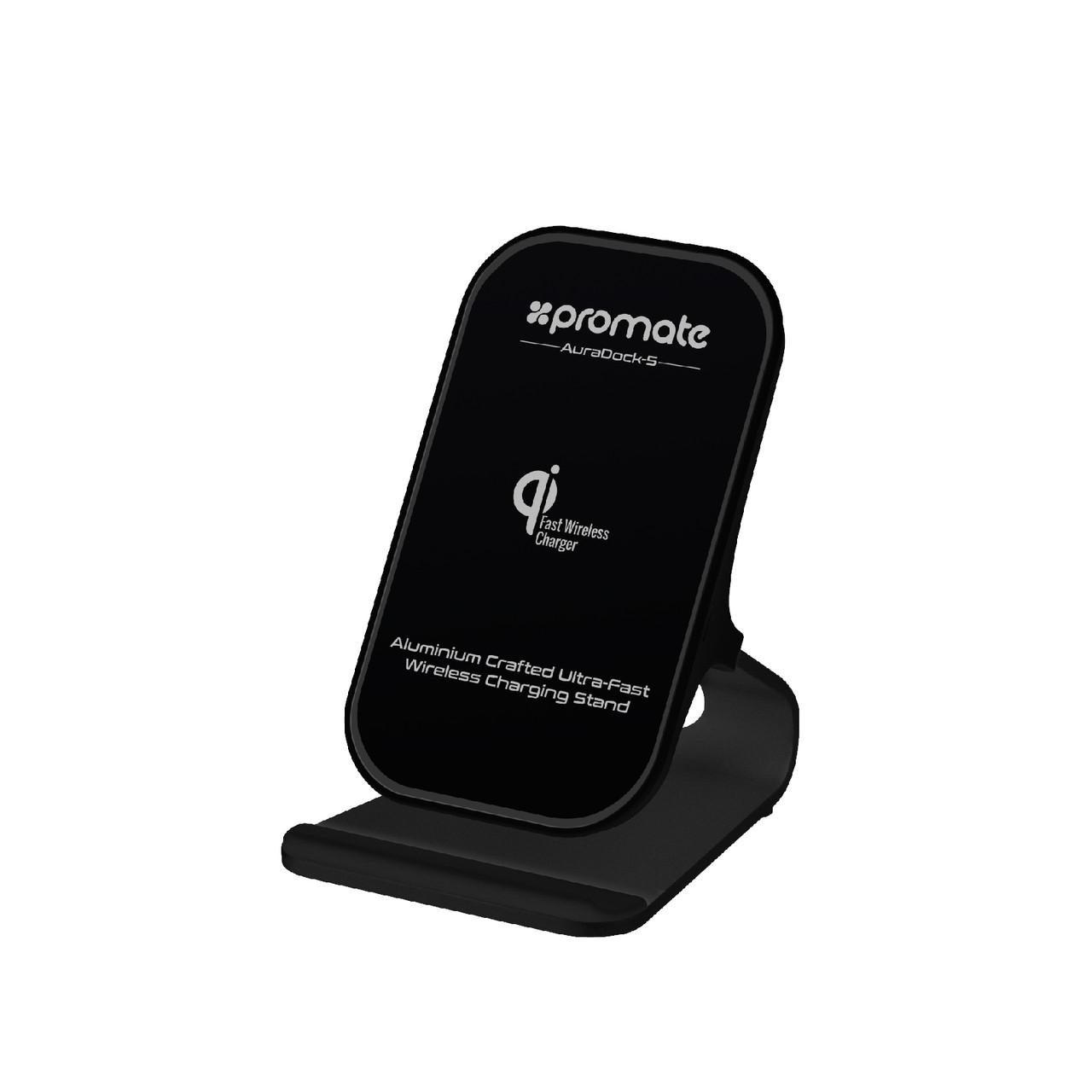 Беспроводное зарядное устройство Promate AuraDock-5 Black