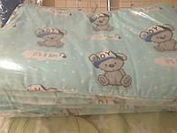 Защита для детской кроватки Жирафики