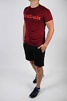 Футболка + шорты Reebok (мужской летний костюм Reebok ). ТОП качество!!!, фото 1