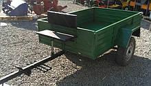 Прицеп для мотоблоков ТМ ШИП (190х115х38 см, под жигулевскую ступицу, без колес)