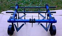 Культиватор междурядной и сплошной обработки для мотоблока ТМ АРА (0,8 м, опорные колеса), фото 1