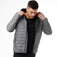 Мужская стеганая куртка Peter Werth Casetta Jacket серая оригинал