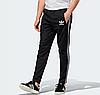 Демісезонні спортивні штани для тренувань Adidas Adicolor Black, фото 3