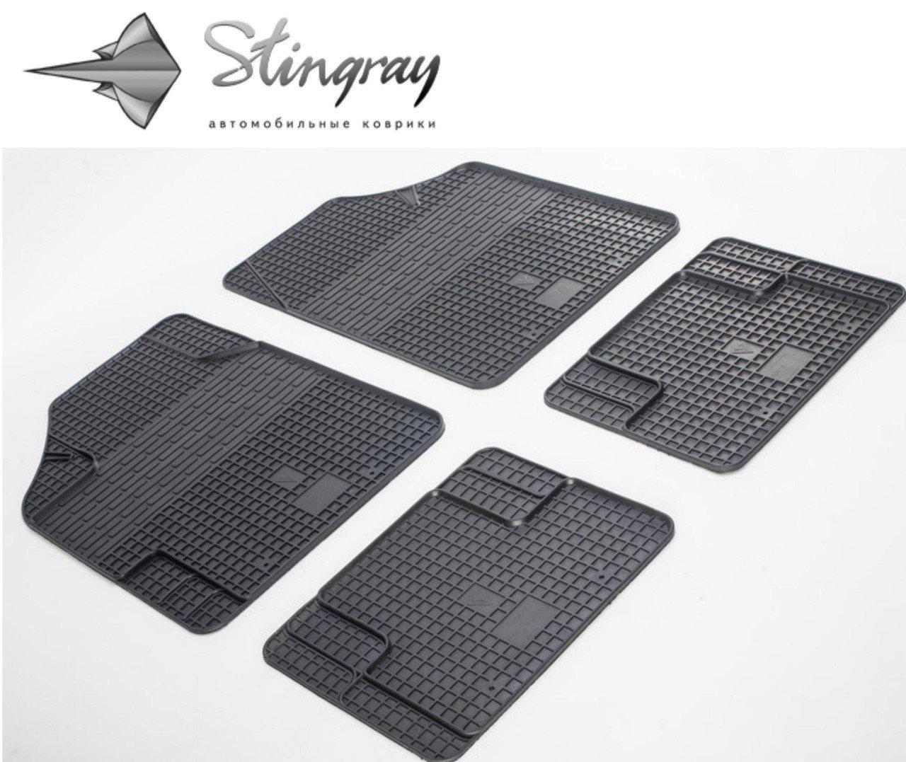 Коврики резиновые универсальные Uni Variant (4 шт) Stingray 1023044