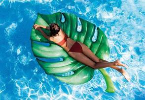 Надувной матрас-плот Intex 58782 Пальмовый лист, фото 2