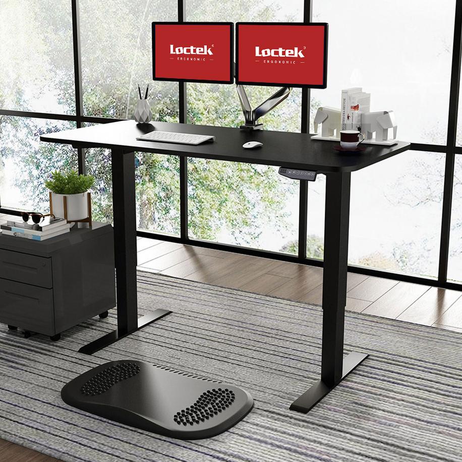 Стіл з електричним регулюванням висоти Loctek ET102D Black