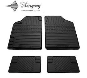 Коврики резиновые универсальные Uni Variant II (4 шт) Stingray 1023074