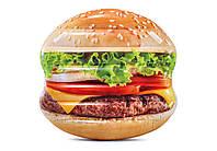 """Надувной матрас """"Гамбургер"""" 58780 EU Intex 145х142 см"""
