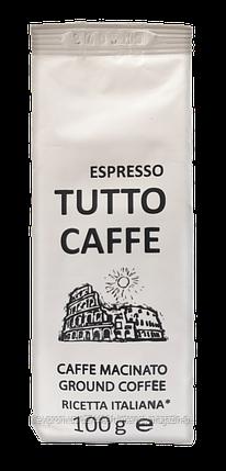 Кава мелена TUTTO CAFFE Espresso, 100гр, фото 2