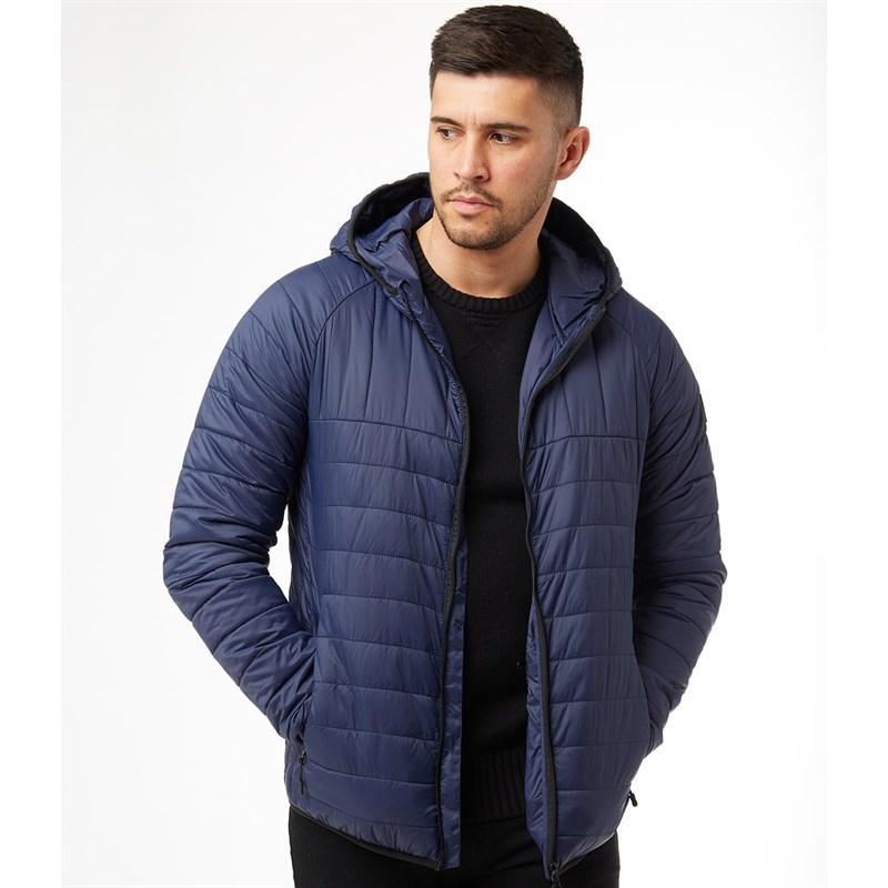 Мужская стеганая куртка Peter Werth Casetta Jacket синяя оригинал