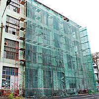 Фасадна сітка  95 г/кв.м., 1.9 х 50 м, PE, green-black