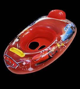 Детская надувная лодочка-машинка (ЛодкаДет_0001)