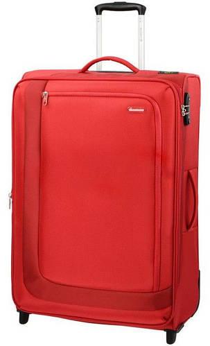 Надежный прочный двухколесный чемодан-гигант 95/109 л. Carlton Clifton 901J375;22 красный