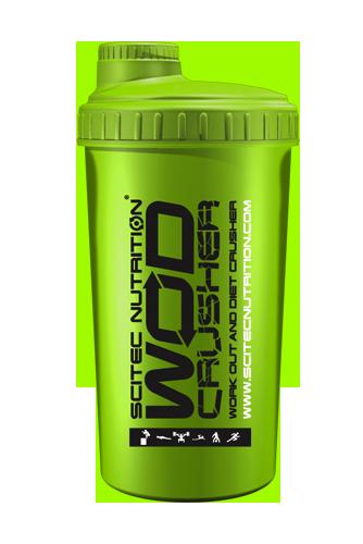 Шейкер 700 мл WOD Crusher ярко-зеленый