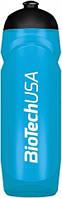 Бутылочка для питья спортивная BioTech USA   Синяя