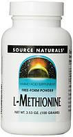 L-Methionine Source Naturals 100g, фото 1
