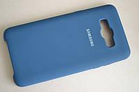 Чехол Silicone Cover Case для Samsung Galaxy J5 (2016) J510 Blue