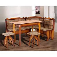 Кухонный комплект Микс Мебель Даллас (куток+стол+2 табуретки)