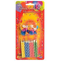 Набір свічок для дитячого дня народження, свята, SR021-20Y