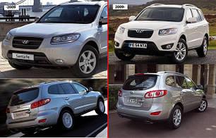 Зеркала для Hyundai Santa Fe 2009-12