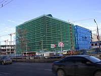 Затiняюча сітка 130 г/кв.м., 1,9х50 м, HDPE.blue