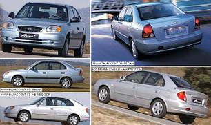 Зеркала для Hyundai Accent 2003-05