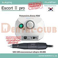 Бормашінка зуботехнічна Marathon Escort 2 Pro (марафон єскорт 2 про) SDE-S40 40000 об/хв, фото 1